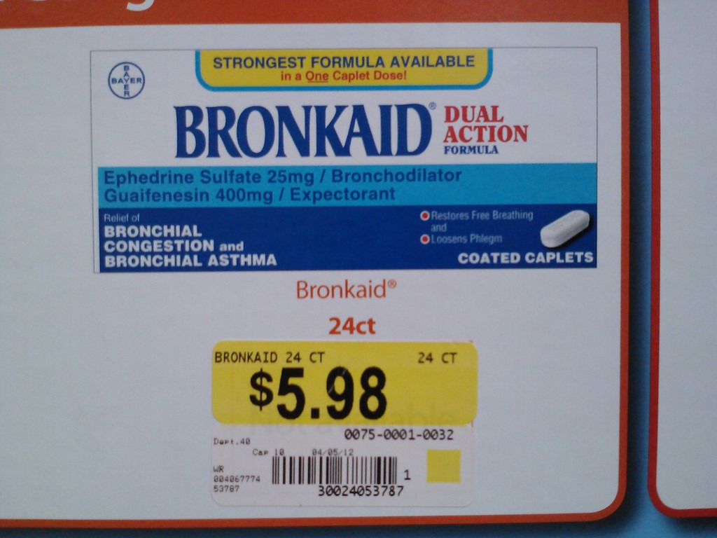 bronkaid asthma relief just  3 98 at walmart