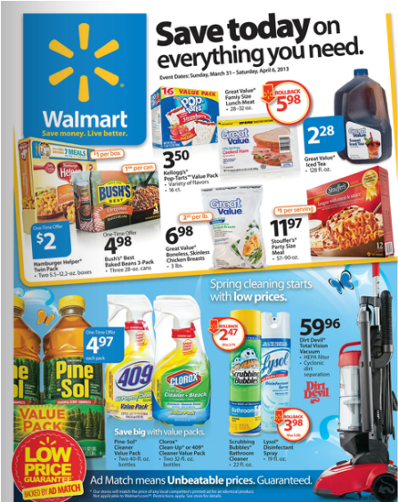 New walmart weekly sales ad flyer is out grocery shop for free at