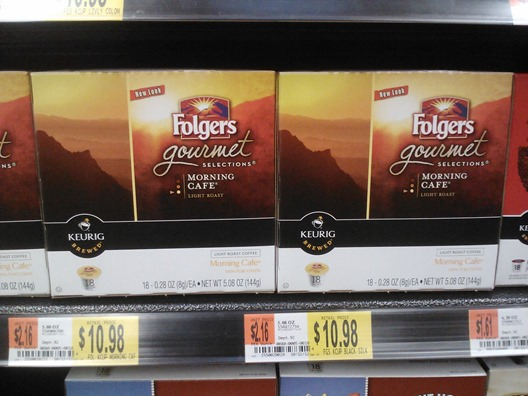 Folgers Gourmeet selections K-Cups