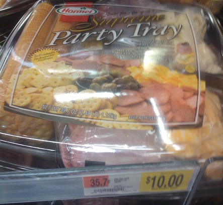 Hormel Supreme Party Tray