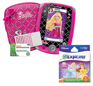 Walmart Value of the Day: LeapFrog LeapPad 2 Explorer Barbie Bundle Just $99!