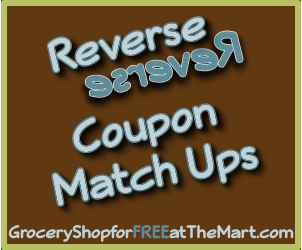 12/8 Reverse Coupon Matchups!