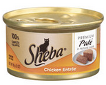 FREE Sheba Cat Food!