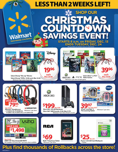 What Entertains Me New Walmart Christmas Ad Flyers