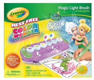 Crayola Disney Fairies Magic Light Up Brush Only $9.97 + FREE Store Pickup! (reg. $17.97)