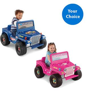 Fisher-Price Power Wheels 6-Volt Jeep Only $79 SHIPPED!