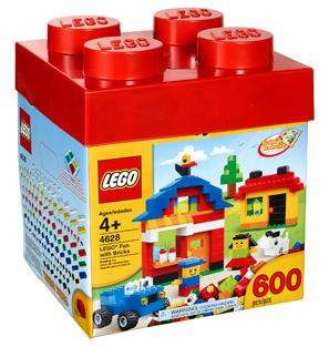 600-Piece LEGO Fun with Bricks Building Set Only $15 + FREE Store Pickup! Black Friday Price!