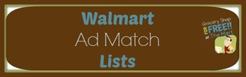 Walmart Ad Match Lists