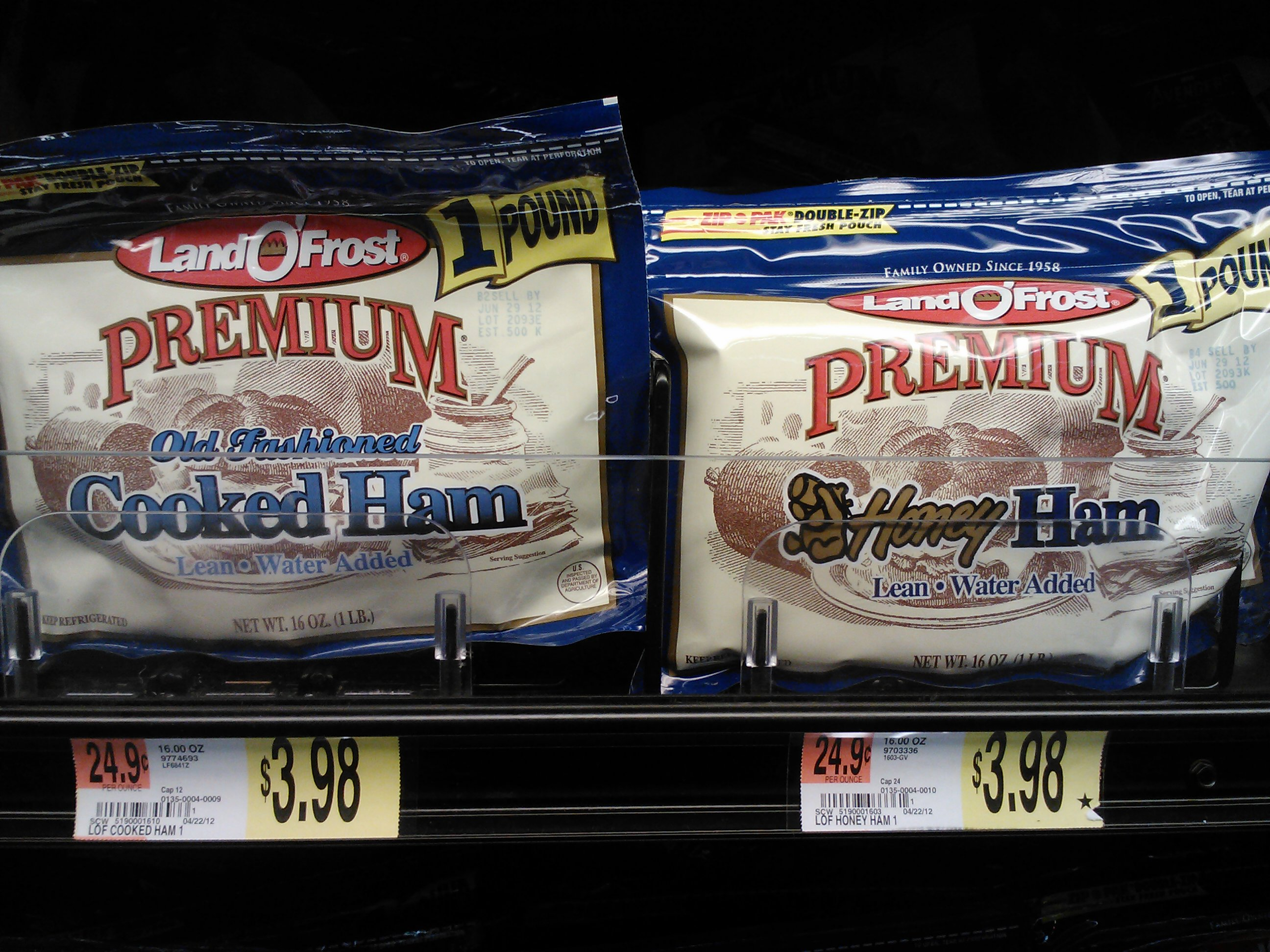 Post image for Save $.75 on Land O Frost Lunchmeat at Walmart!