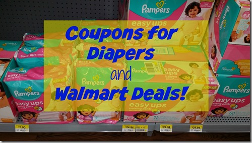 Post image for Printable Coupons for Diapers and Walmart Deals!