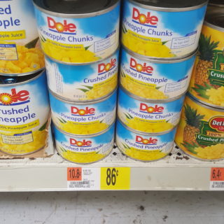 Dole Canned Pineapple Chunks Just $0.12 At Walmart!