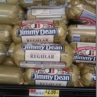 Jimmy Dean Sausage Just $1.98 At Walmart!