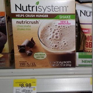 New Printable Coupon for Nutrisystem Nutricrush Bars and Shakes!
