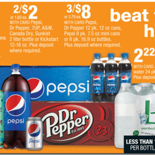 Rare Coupons for Pepsi Soft Drinks!