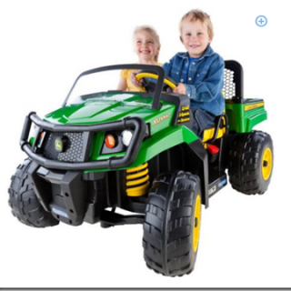 Peg Perego John Deere Gator Battery Powered Ride On for $398!