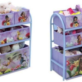 Disney Fairies Metal Toy Organizer Just $14.99 at Walmart.com!
