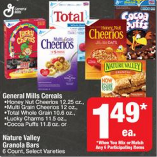 Walmart Price Match Deal: Lucky Charms and Cheerios Just $.49 a Box!