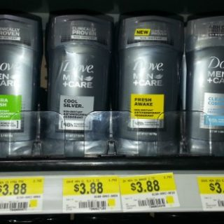 FREE Dove Men+Care Deodorant With Overage At Walmart!