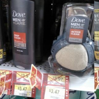 FREE Dove Men+Care Body Wash With Overage At Walmart!