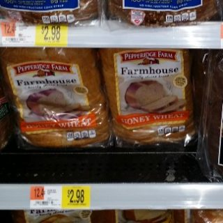 Pepperidge Farm Farmhouse Bread Just $1.73 at Walmart!