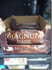 Magnum Ice Cream– 78 cents!