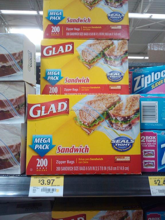 glad sandwich bag coupons
