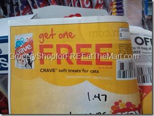 FREE Crave Cat Treats Coupon