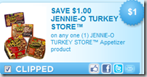 $1.00 off Jennie-O Appetizers!