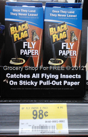 Black Flag Fly Paper