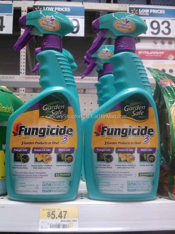 Garden Safe Fungicide is $3 47!