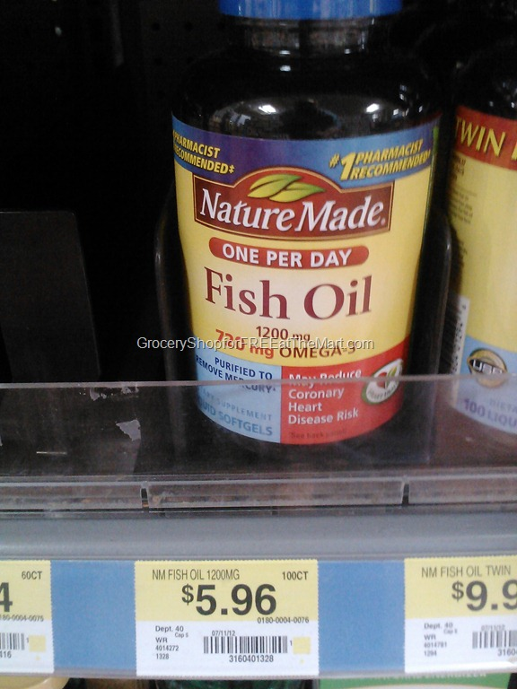 Nature made fish oil just grocery shop for free for Does fish oil expire