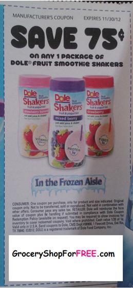 Dole Shaker