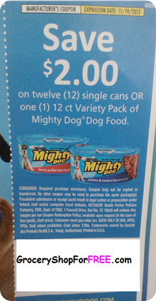 Mighty Dog coupon