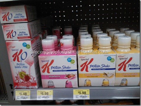 Special K Protein Shakes 2-10-12