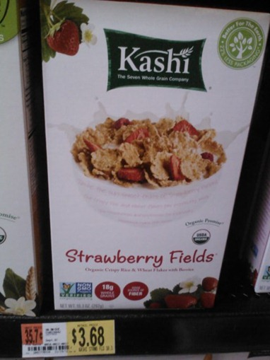 Kashi Strawberry Fields at Walmart