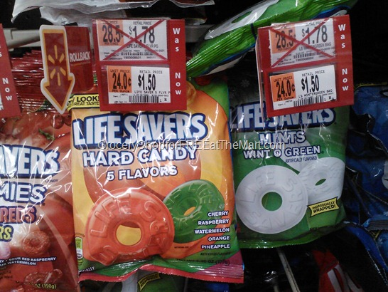 Life savers Bag candy at Walmart