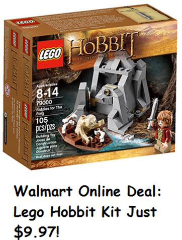 The Hobbit Lego Kit at Walmart