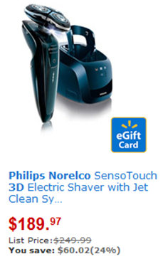 photo regarding Philips Norelco Printable Coupon called Walmart Coupon Matchup: Help you save Up Towards $80 upon Philips Norelco