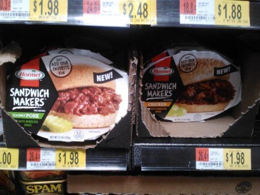 Hormel Sandwich Makers at Walmart