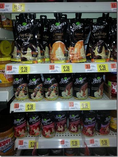 Breyer's Ice Cream Toppings at Walmart