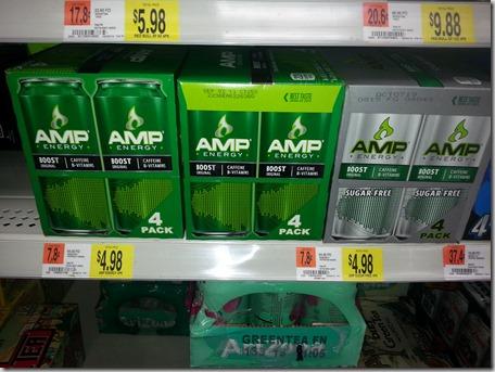 Amp Energy 4pks