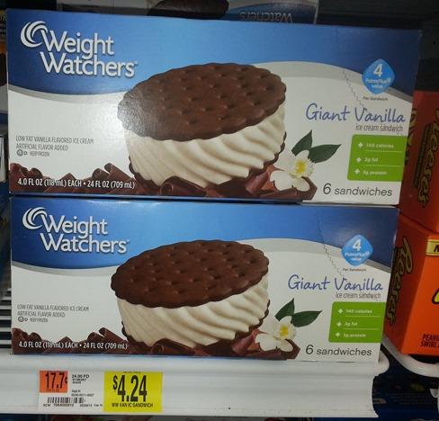 Weight Watchers Ice Cream