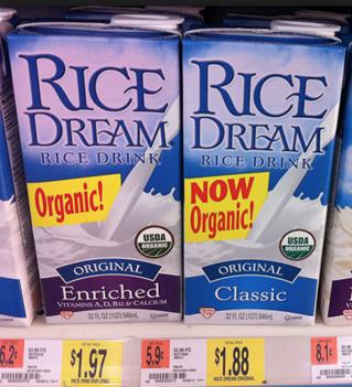 Rice Dream At Walmart