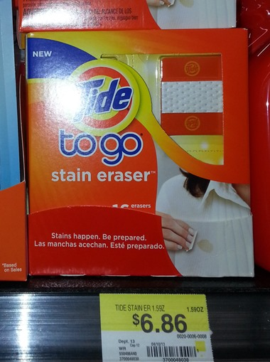 Tide to go Stain Eraser