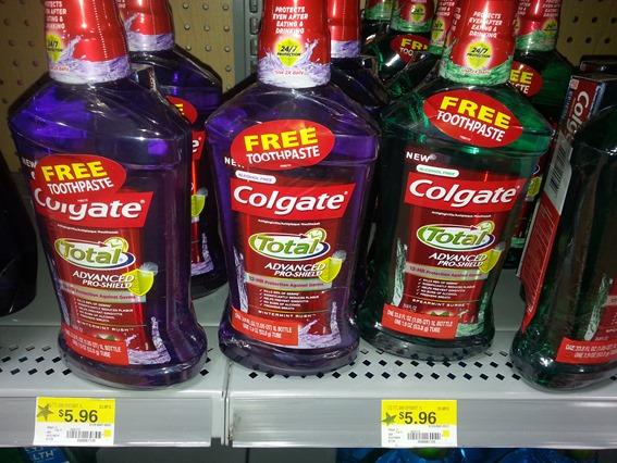 Colgate Total Advance Rinse 1L