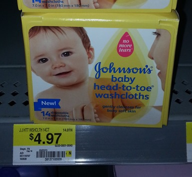 Johnson's Washcloths