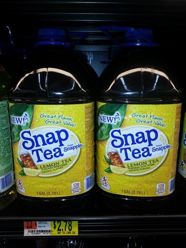 Snap Tea
