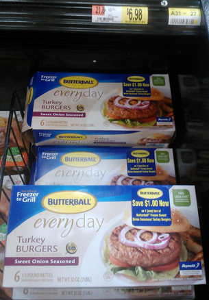 Walmart Coupon Matchup:  New Butterball Turkey Burgers Deal