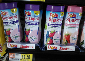 Dole Fruit Smoothie Shakers Just $.75