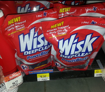 Walmart Coupon Matchup:  Wisk PowerBlasts Just $2.77